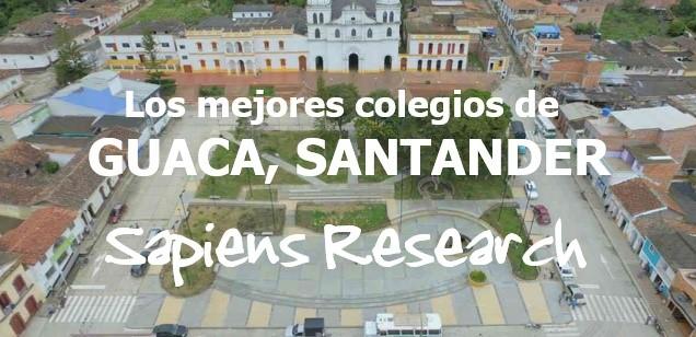 Los mejores colegios de Guaca, Santander