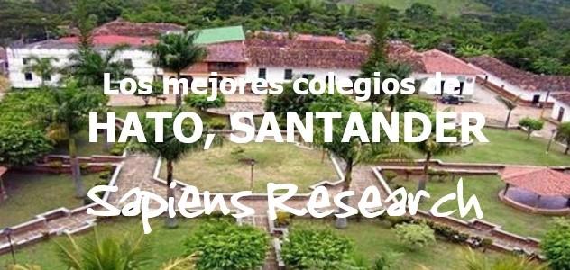 Los mejores colegios de Hato, Santander