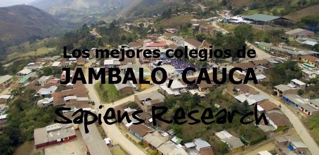 Los mejores colegios de Jambaló, Cauca