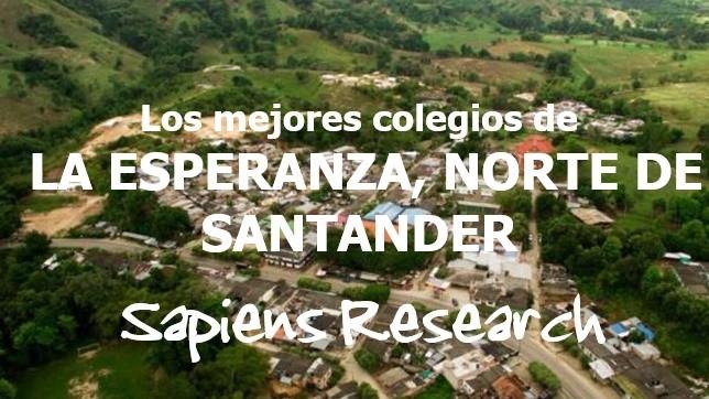 Los mejores colegios de La Esperanza, Norte de Santander