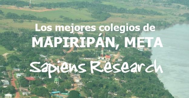 Los mejores colegios de Mapiripán, Meta