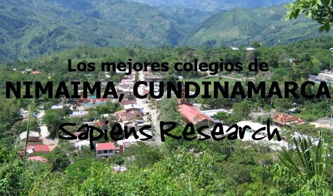 Los mejores colegios de Nimaima, Cundinamarca