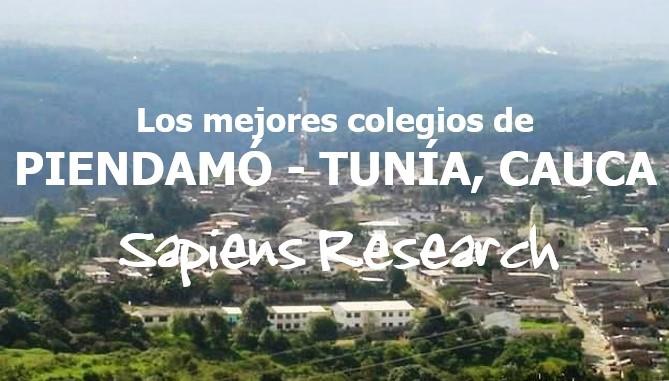 Los mejores colegios de Piendamó - Tunía, Cauca