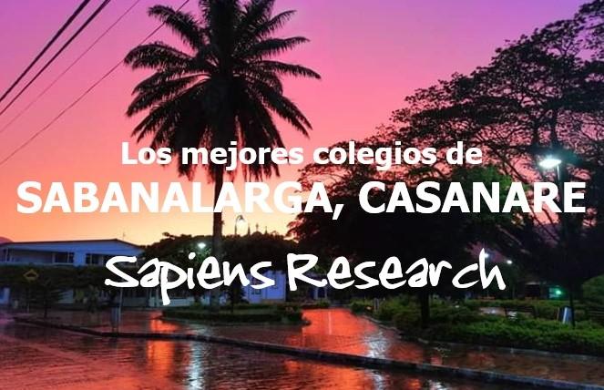 Los mejores colegios de Sabanalarga, Casanare