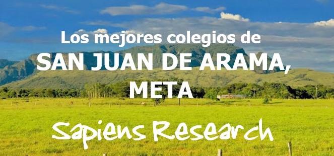 Los mejores colegios de San Juan de Arama, Meta