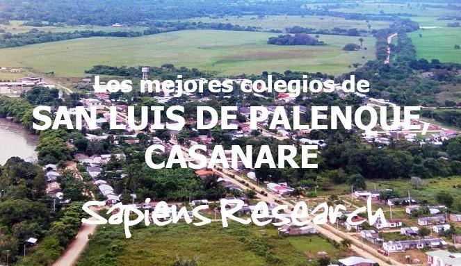 Los mejores colegios de San Luis de Palenque, Casanare