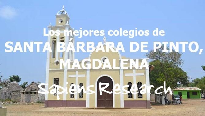 Los mejores colegios de Santa Bárbara de Pinto, Magdalena