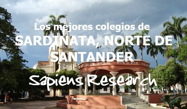 Los mejores colegios de Sardinata, Norte de Santander