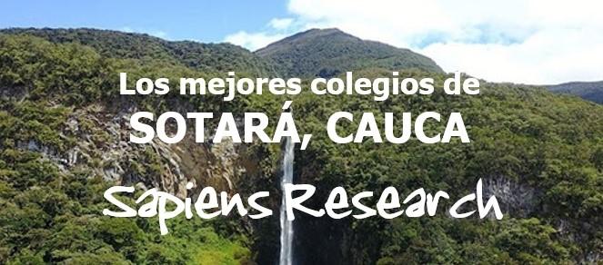 Los mejores colegios de Sotara, Cauca