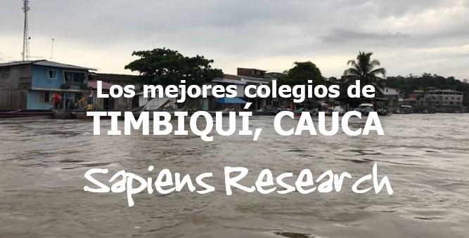 Los mejores colegios de Timbiquí, Cauca