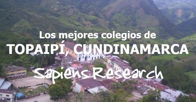 Los mejores colegios de Topaipí, Cundinamarca