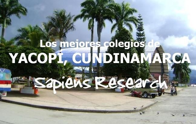 Los mejores colegios de Yacopí, Cundinamarca
