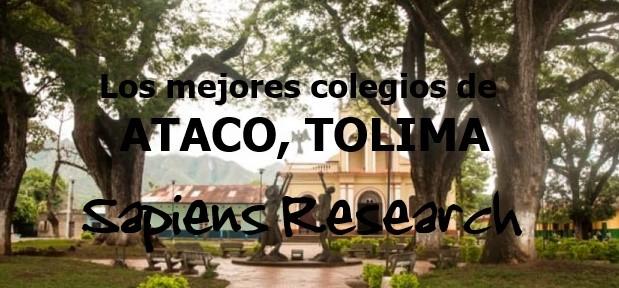 Los mejores colegios de Ataco, Tolima