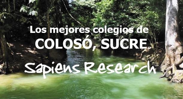 Los mejores colegios de Colosó, Sucre