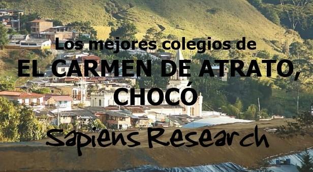Los mejores colegios de El Carmen de Atrato, Chocó