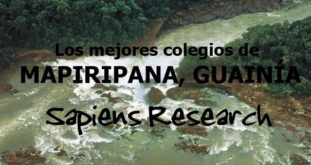 Los mejores colegios de Mapiripana, Guainía