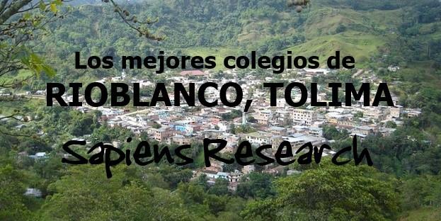 Los mejores colegios de Rioblanco, Tolima