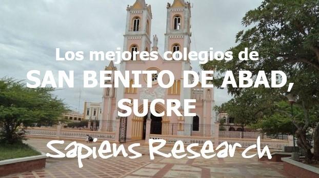 Los mejores colegios de San Benito de Abad, Sucre