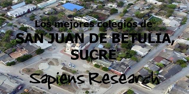 Los mejores colegios de San Juan de Betulia, Sucre