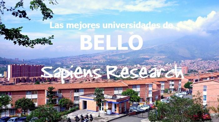 Las mejores universidades de Bello