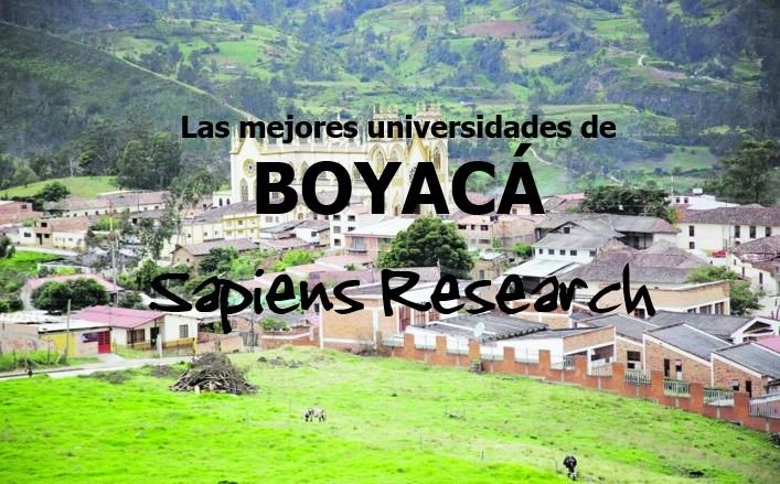 Las mejores universidades de Boyacá