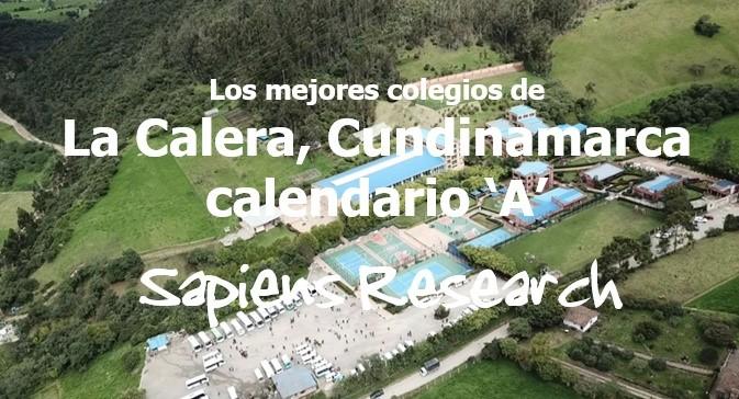 Los mejores colegios de La Calera, calendario 'A'