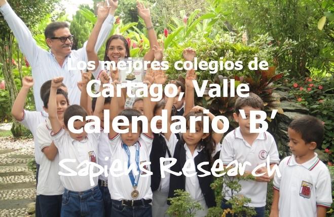 Los mejores colegios de Cartago, Valle calendario 'B'