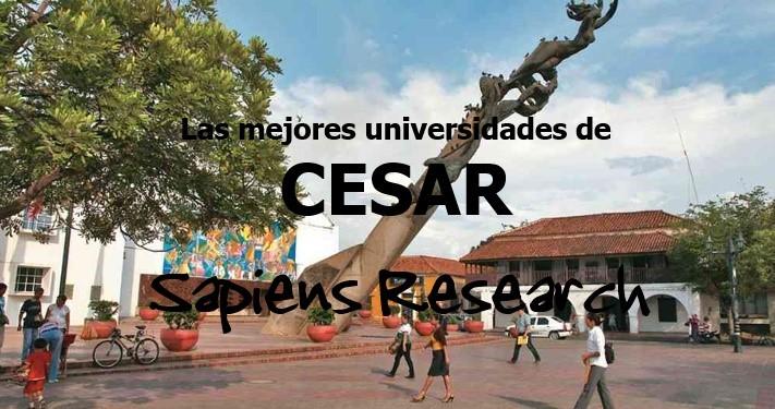 Las mejores universidades de Cesar