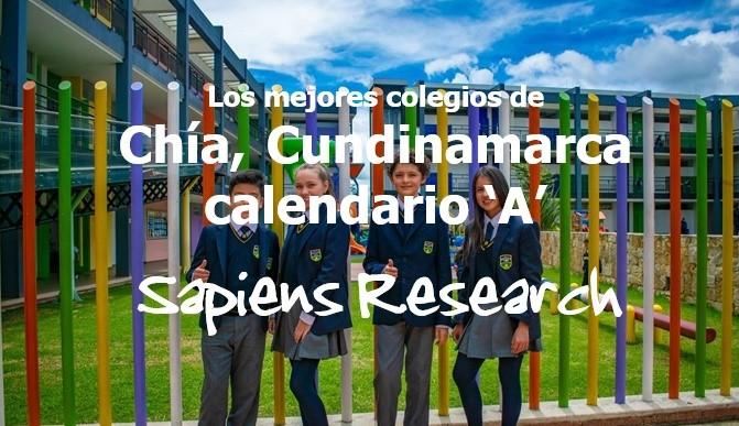 Los mejores colegios de Chía, Cundinamarca calendario 'A'