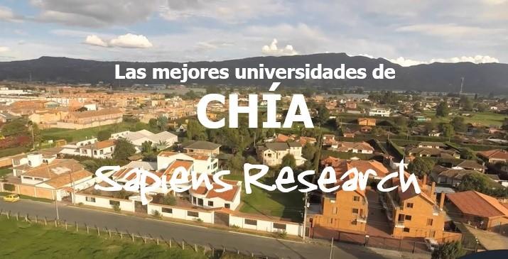 Las mejores universidades de Chía