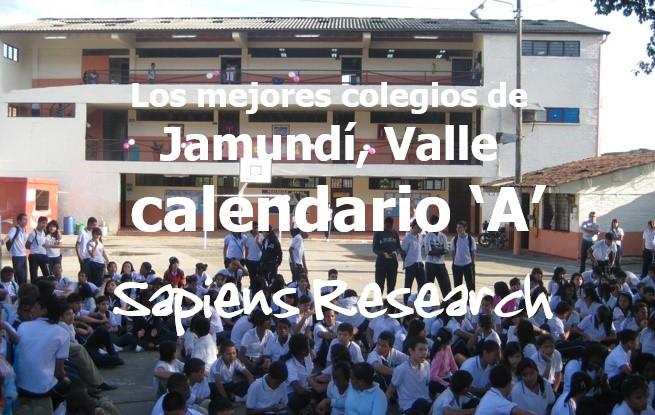 Los mejores colegios de Jamundí, Valle calendario 'A'