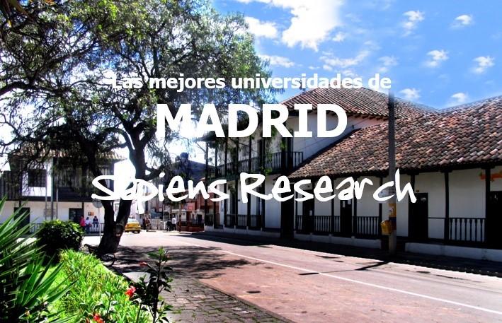 Las mejores universidades de Madrid