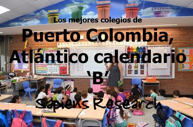 Los mejores colegios de Puerto Colombia, Atlántico calendario 'B'