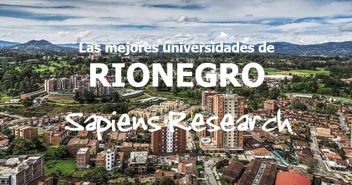 Las mejores universidades de Rionegro