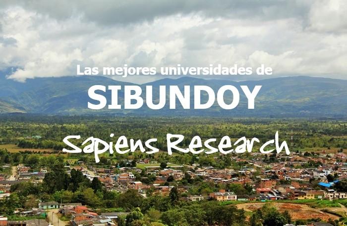 Las mejores universidades de Sibundoy