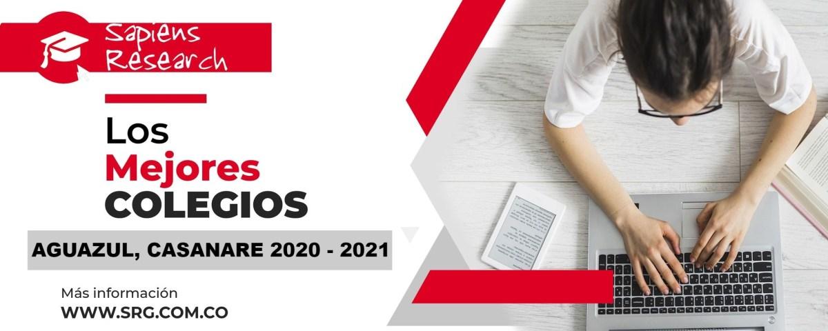 Ranking mejores Colegios-Aguazul, Casanare 2020-2021