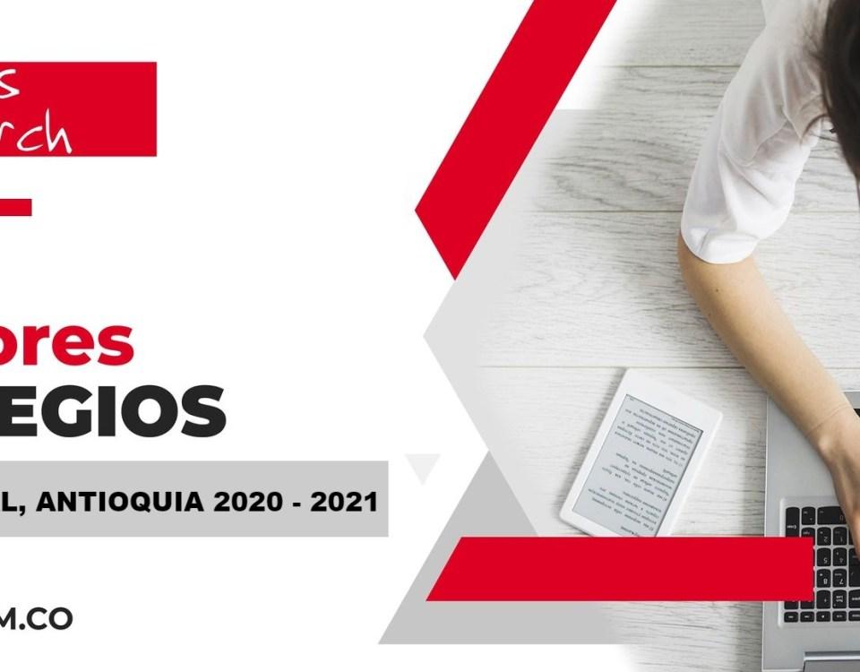 Los mejores colegios de El Carmen de Viboral, Antioquia en 2020-2021