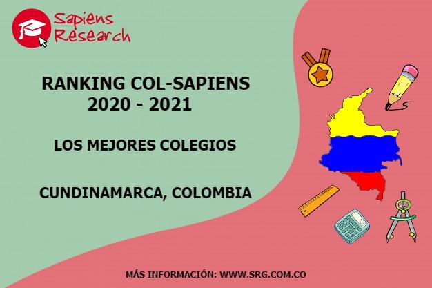 Ranking mejores Colegios-Cundinamarca, Colombia 2020-2021