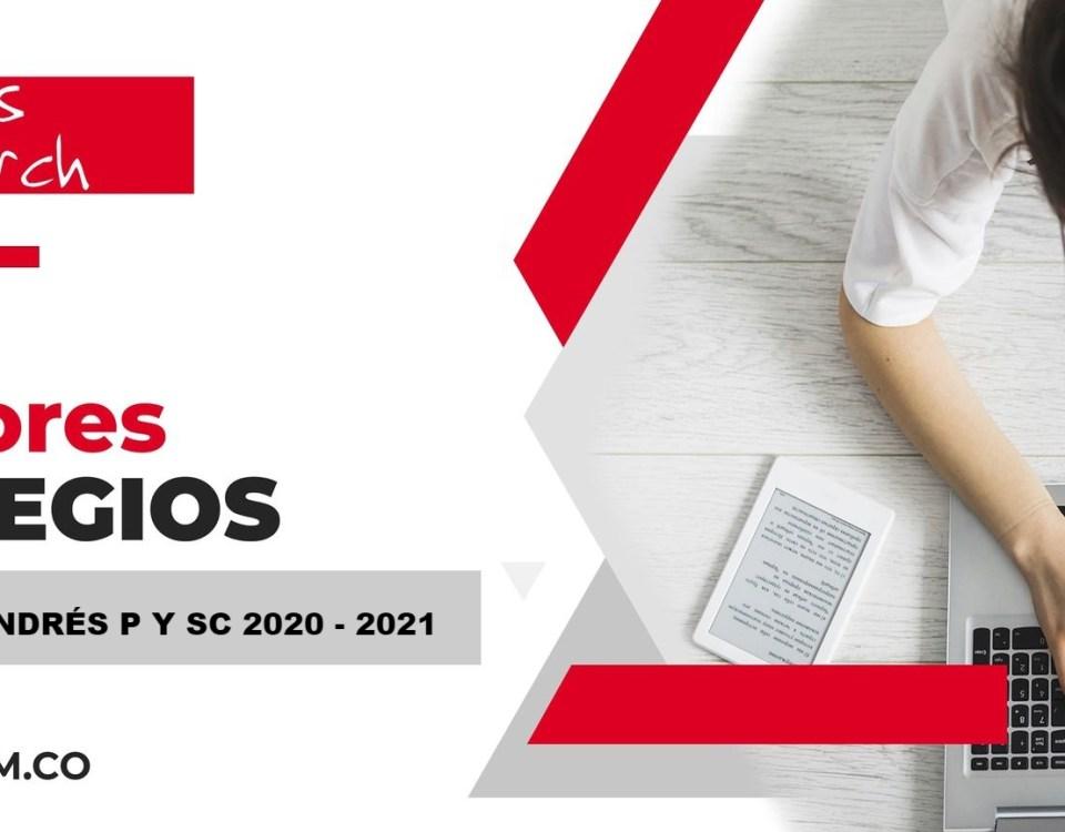 Ranking mejores Colegios-San Andrés, Providencia y Santa Catalina, Colombia 2020-2021