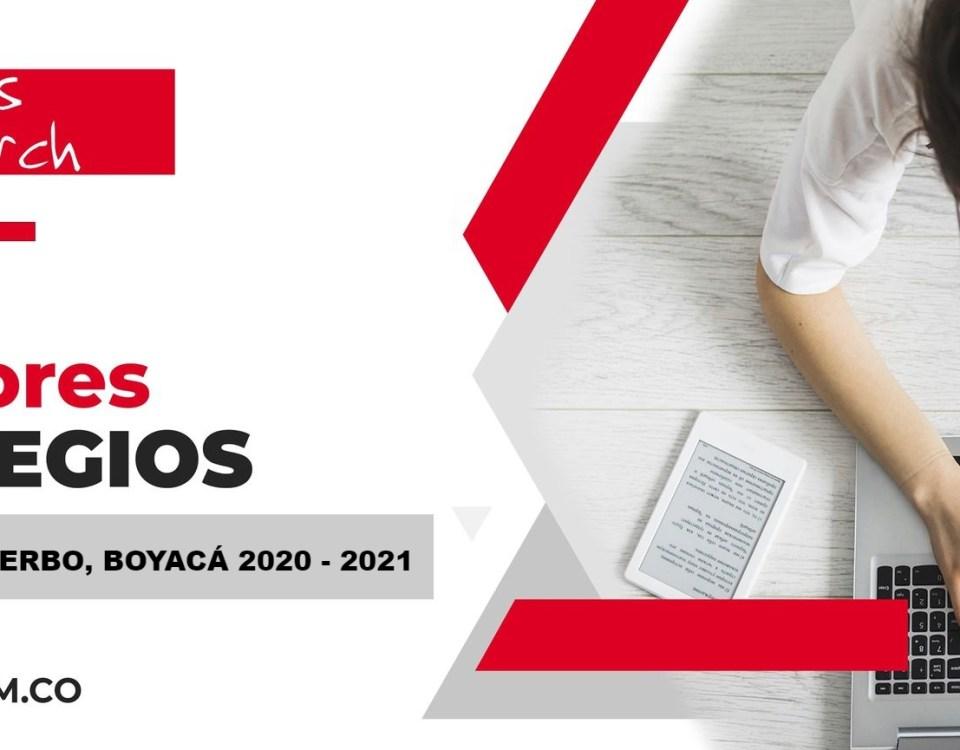 Ranking mejores Colegios-Santa Rosa de Viterbo, Boyacá, Colombia 2020-2021