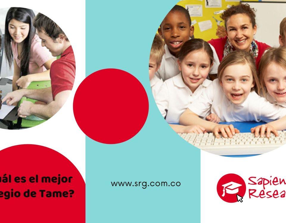 ¿Cuál es el mejor colegio de Tame?