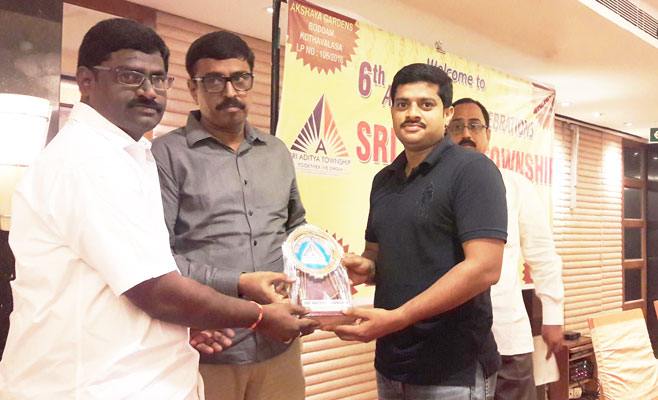 sixth anniversary of sri aditya township