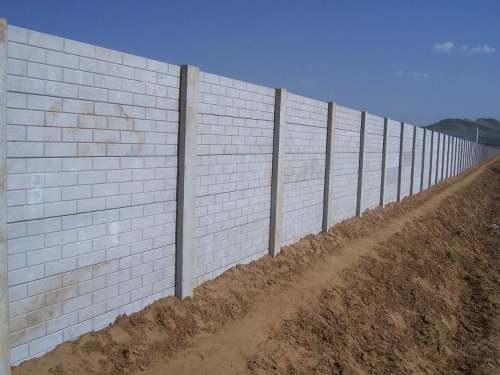 Brick Precast Boundary Wall Molds