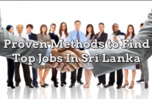 Top Jobs In Sri Lanka