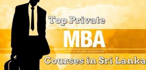 MBA Courses in Sri Lanka
