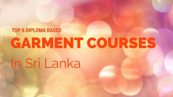 Garment Courses in Sri lanka