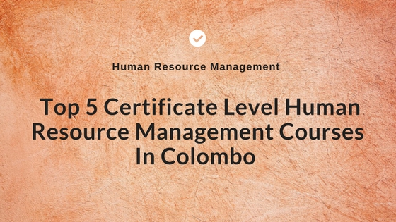 HRM Courses In Colombo