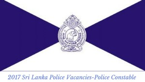 Sri lanka Police Vacancies