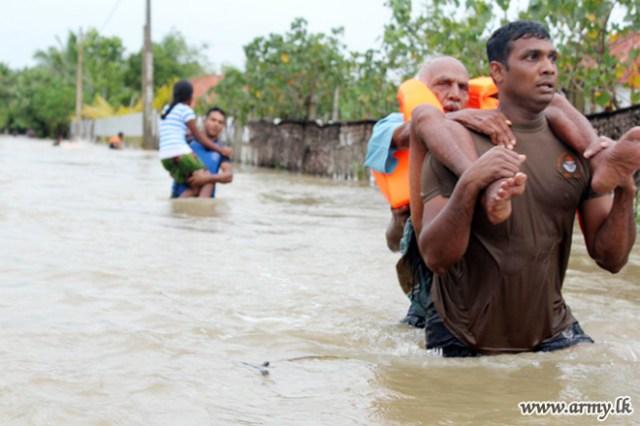 Sri Lanka Army leads flood relief work in the North - Sri Lanka Foundation
