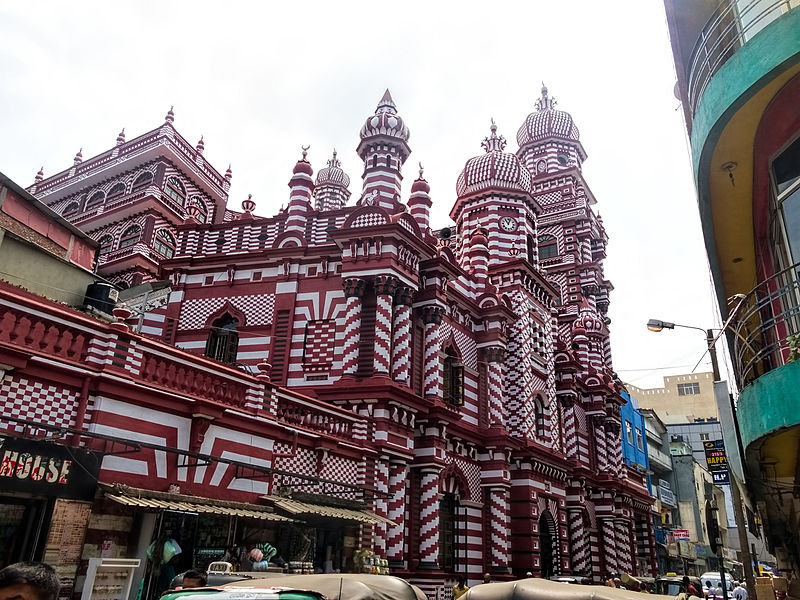 beautiful mosque srilanka